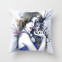 Perfect Shot Throw Pillow