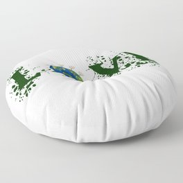 Earth Day Love Mother Earth Floor Pillow