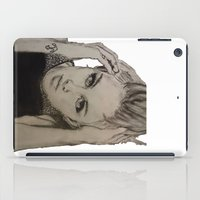 miley cyrus iPad Cases featuring Miley Cyrus by Brittany Ketcham