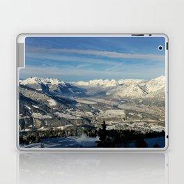 Innsbruck In Winter From Patscherkofel Mountain Laptop & iPad Skin