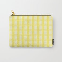 Sunshine Check Carry-All Pouch