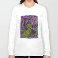 queer Long Sleeve T-shirts featuring Queer Buddha ~ Success II by Jamila