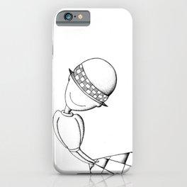 Ludo White iPhone Case
