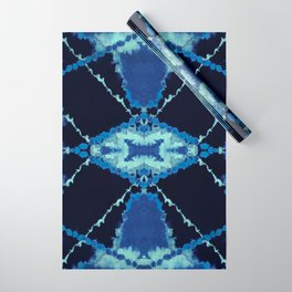 Tribal Tie-Dye Wrapping Paper