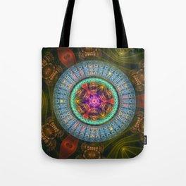 Wheel of Magic Tote Bag