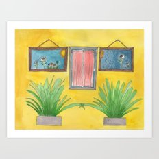four of one kind Art Print