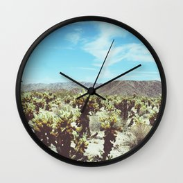 Cactus Forest Wall Clock