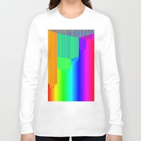 pivot Long Sleeve T-shirts featuring R Experiment 4 (quicksort v2) by X's gallery