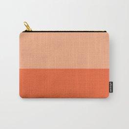 Half Coquelicot/Coquelicot Carry-All Pouch