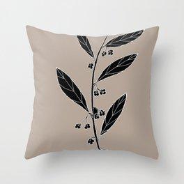 Dysentery Bush (also known as Emu Berry or Paper Berry) - Grewia retusifolia Throw Pillow