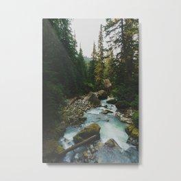 White Chuck River - Pacific Crest Trail, Washington Metal Print
