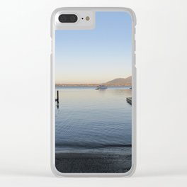 Sunset at Lake Taupo Clear iPhone Case