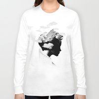 ace Long Sleeve T-shirts featuring It's a cloudy day by Robert Farkas