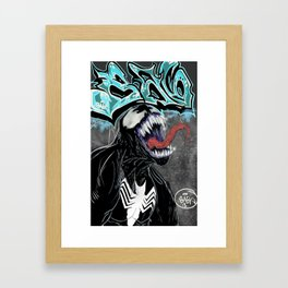 Venom Ba6ix Graffiti  Framed Art Print