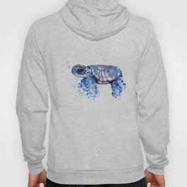 Baby Blue Turtle Hoody
