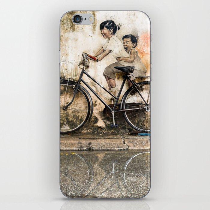 Reflections of Penang iPhone Skin