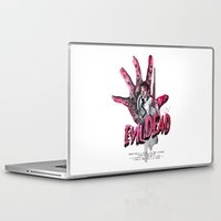 "evil dead Laptop & iPad Skins featuring ""EVIL DEAD"" BRUCIE IS BACK by Superdroso"