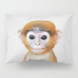 Baby Monkey - Colorful Pillow Sham