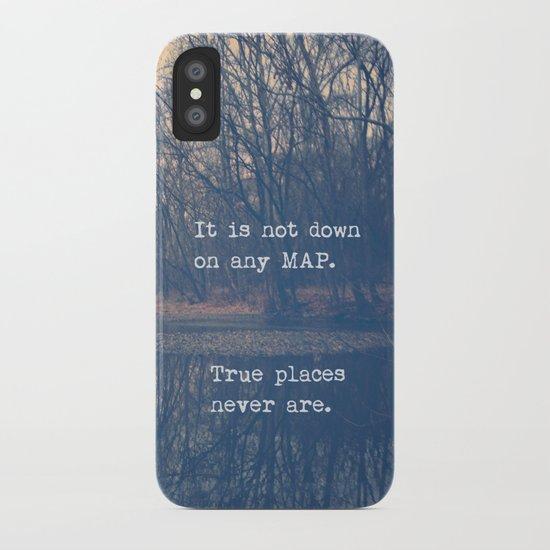 True Places iPhone Case