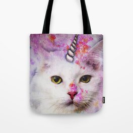 Unicorn Cat Tote Bag