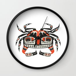 The Crab Wall Clock