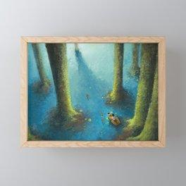 Biei Hokkaido Japan Framed Mini Art Print