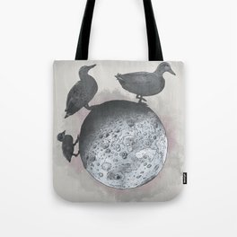 the duck side of the moon Tote Bag