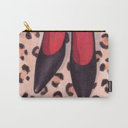 Black Heels Carry-All Pouch