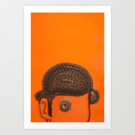 002: Clockwork Orange - 100 Hoopties Art Print