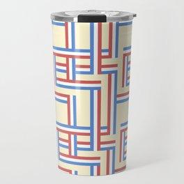 RWBStripeCream Travel Mug