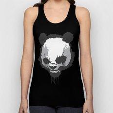 Dirty Angry Panda Unisex Tank Top