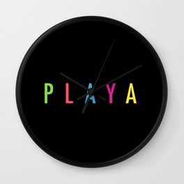 Playa Wall Clock