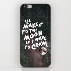 To the Moon Take 2 iPhone & iPod Skin