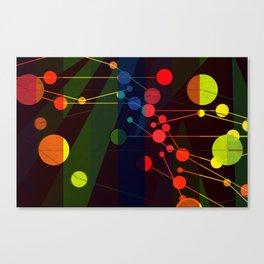 Planetary System I Canvas Print
