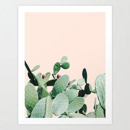 Cactus culture Art Print