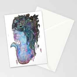 moth effect Stationery Cards