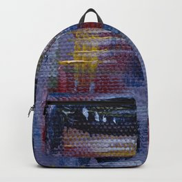 Abstract Purple Painting Backpack
