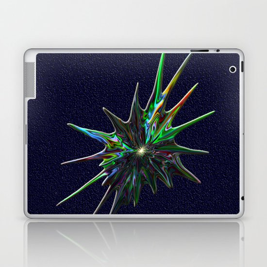 Fractal Splash Laptop & iPad Skin