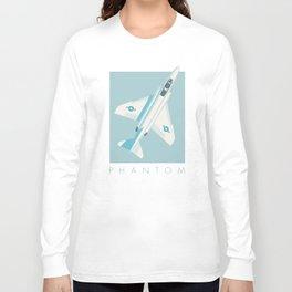 F4 Phantom Jet Fighter Aircraft - Sky Long Sleeve T-shirt