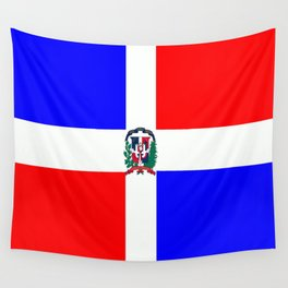 Flag of Dominican Republic Wall Tapestry