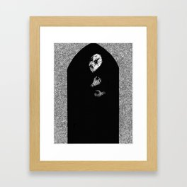 Portal Framed Art Print