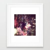 lightning Framed Art Prints featuring lightning by christine nissen