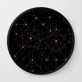 celestial pattern design Wall Clock