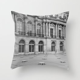 Palais Royal V Throw Pillow