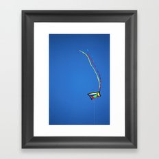 Summer Kite Framed Art Print