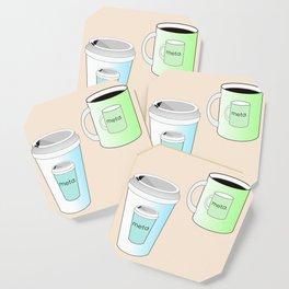 Meta Coffee. Coaster