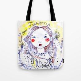 I am freedom Tote Bag