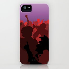 Women Marching (Red Version) iPhone Case