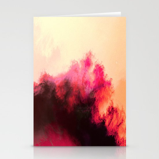 Painted Clouds II Stationery Cards