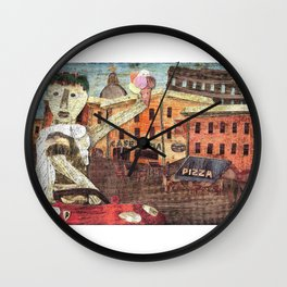 Julius Caeser In Rome Wall Clock